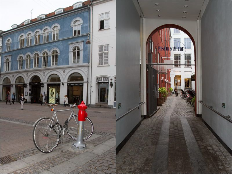 Copenhagen - a friendly city with plenty of bicycles.